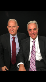 Phil Whitman with Frank Schettino, Managing Partner, Anchin LLP