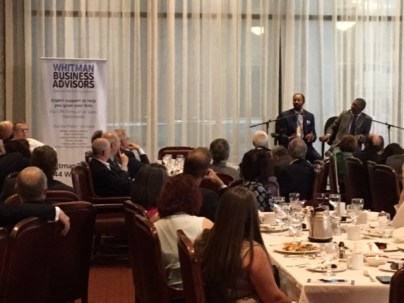 Accountants Club of America Walt Frazier lunch at The 101 Club in NYC