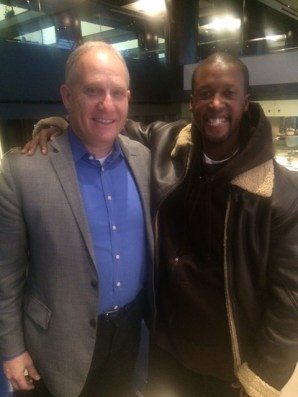 Philip Whitman with Arthur Robinson, Jr. Owner of powerfulinterviews.com