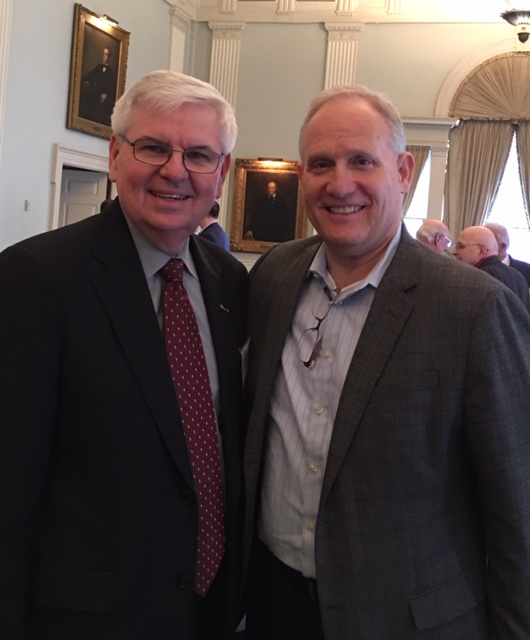 Barry C. Melancon, President and CEO at the AICPA and CEO of the Association of International Certified Professional Accountants with Phil Whitman