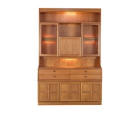 Classic Teak Cocktail Combination Unit
