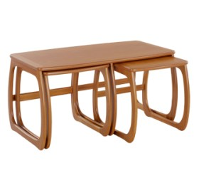 Classic Teak Burlington Coffee Table Nest