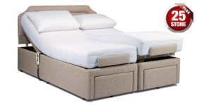 click to view the Sherborne Dorchester 5' Adjustable Bed