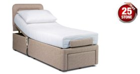"click to view the Sherborne Dorchester 2'6"" Adjustable Bed"