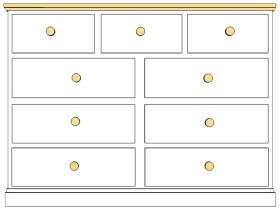 Cornish 9 Drawer Multichest
