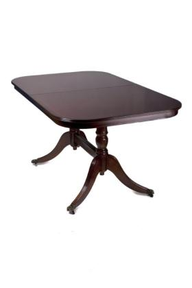 Reproduction Flipover Table Oval or D-End