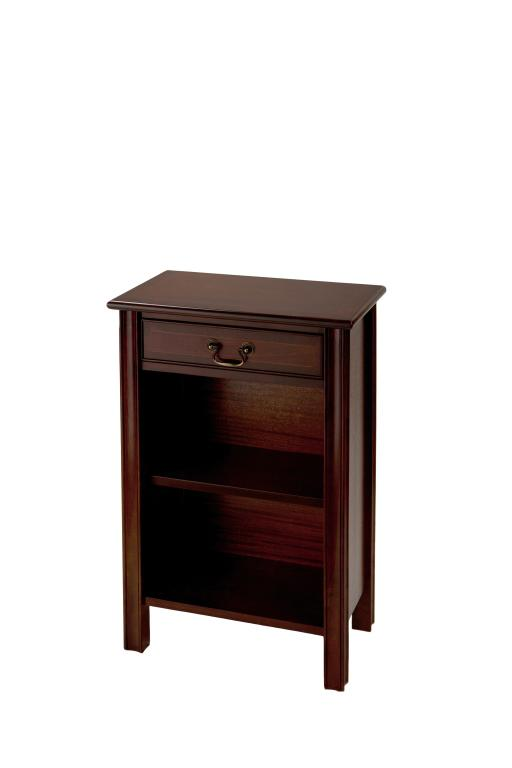 Reproduction 1 Drawer Open Hall Cupboard Chippendale