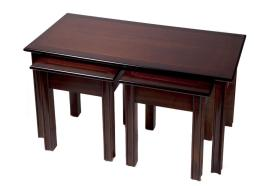 Reproduction Chippendale Lounge Nest of Tables
