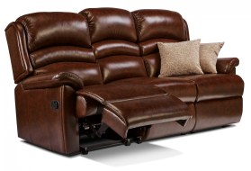 click to view olivia 3 seat reclining settee