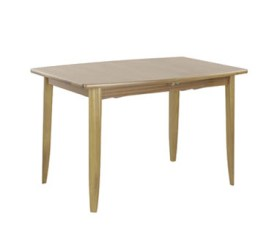 Shades Oak Small Boat Shaped Dining Table on Legs