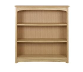 Editions Oak Mid Double Bookcase