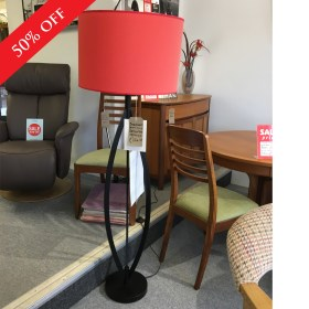click to view danalight shade floor lamp
