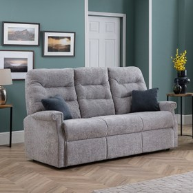 click to view the Celebrity Sandhurst 3 Seat Manual Reclining Settee