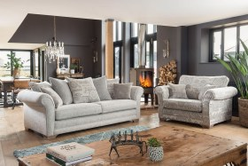 click to view georgia 3 seater sofa