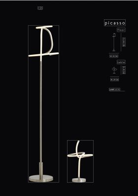 click to view danalight picasso led floor lamp