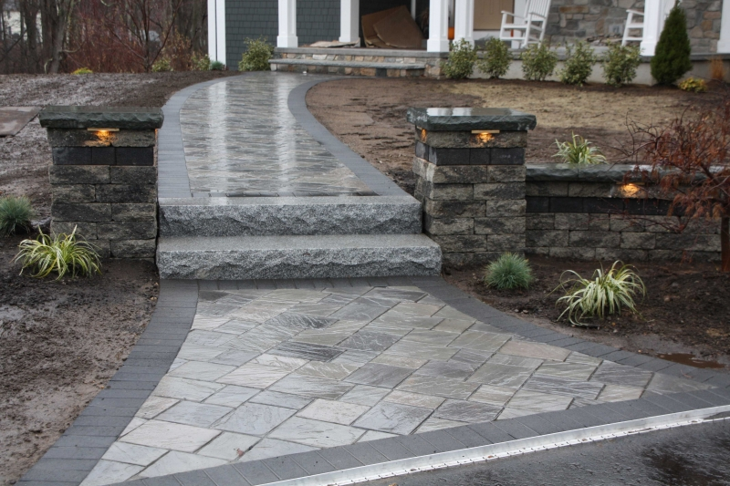 Pavers  Segmented Walls Patterns and Colors  Whitmores Yard Care Inc