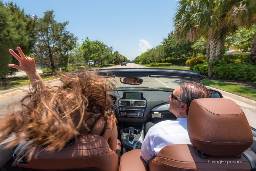 Photo shoot with Living Exposure photography and Braman BMW in Jupiter, FL.