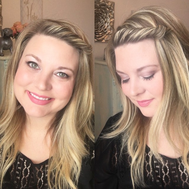 easy front twist hair tutorial - whitney evans beauty