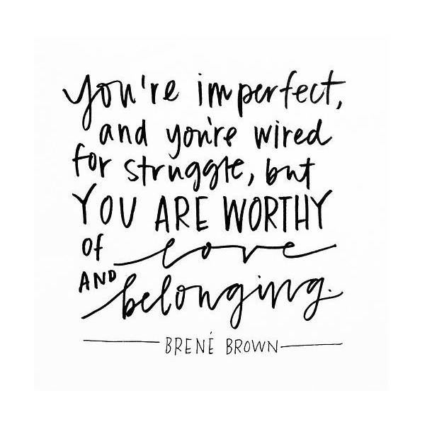 QUOTE IT WEDNESDAY BRENÉ BROWN Whitney Hoy Delectable Quote It