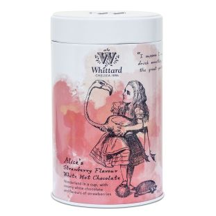 Alice's Strawberry Flavour White Hot Chocolate