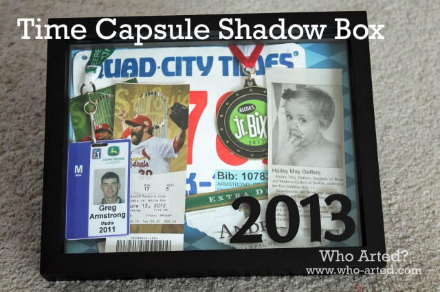 Shadow Box Time Capsule 01
