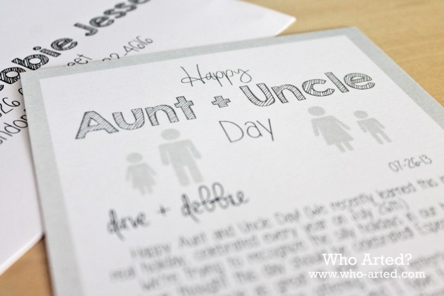 Aunt and Uncle Day 09