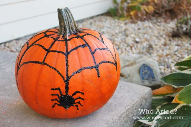 Spider Web Pumpkin 07