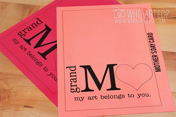 Mothers Day Card Who Arted 01