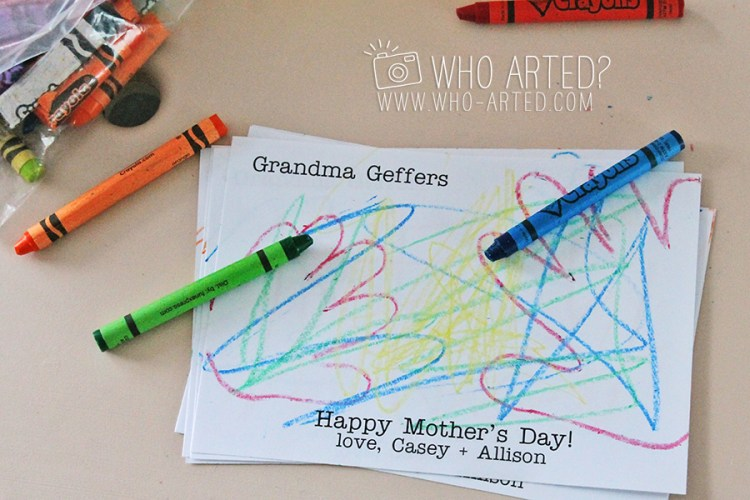 Mothers Day Card Who Arted 06