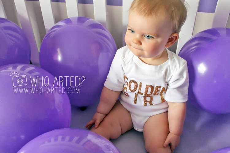 First Birthday Balloon Crib Party Who Arted 03