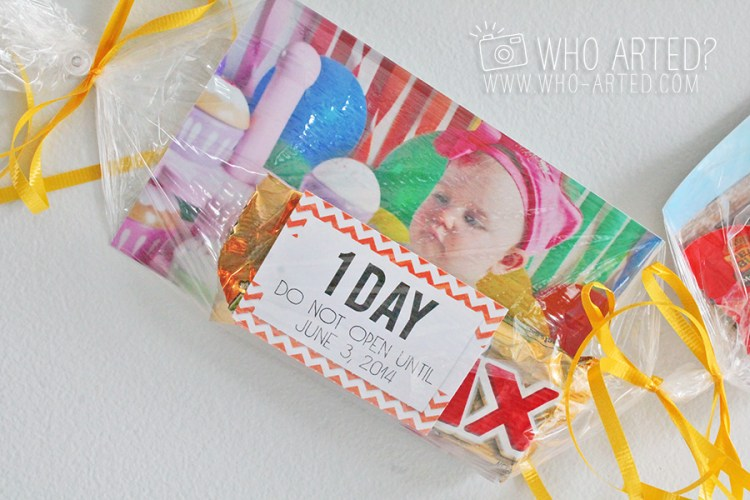 Birthday Garland Countdown Who Arted 15