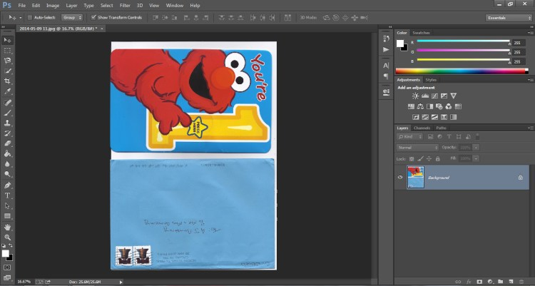 How to Scan Cards into Scrapbook Who Arted 04