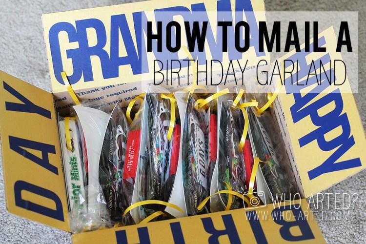 Birthday Garland Who Arted 00