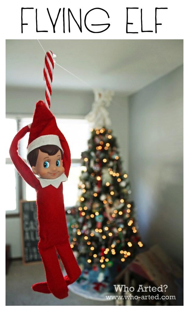 Elf on the Shelf, Day 3