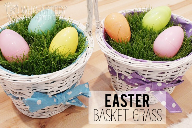 Easter Basket Grass Who Arted 00