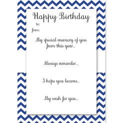 Birthday Memory Cards Blue Who Arted Thumbnail