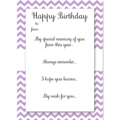 Birthday Memory Cards Lilac Who Arted Thumbnail
