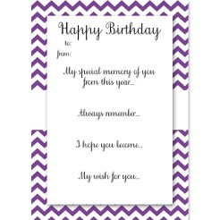 Birthday Memory Cards Purple Who Arted Thumbnail