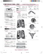 1965 tail light bezel in 1964-1965 Chevelle & El Camino