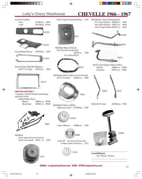 Page 12 of 1966-1967 Chevelle & El Camino parts