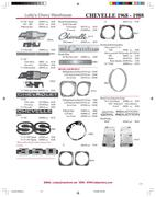 1968-1977 Chevelle & El Camino parts by Lutty