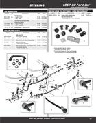 power steering repair kits in 1957-59 Ford Car & Edsel