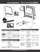 side window seal in 1967-79 Trucks & 78-79 Bronco Parts by