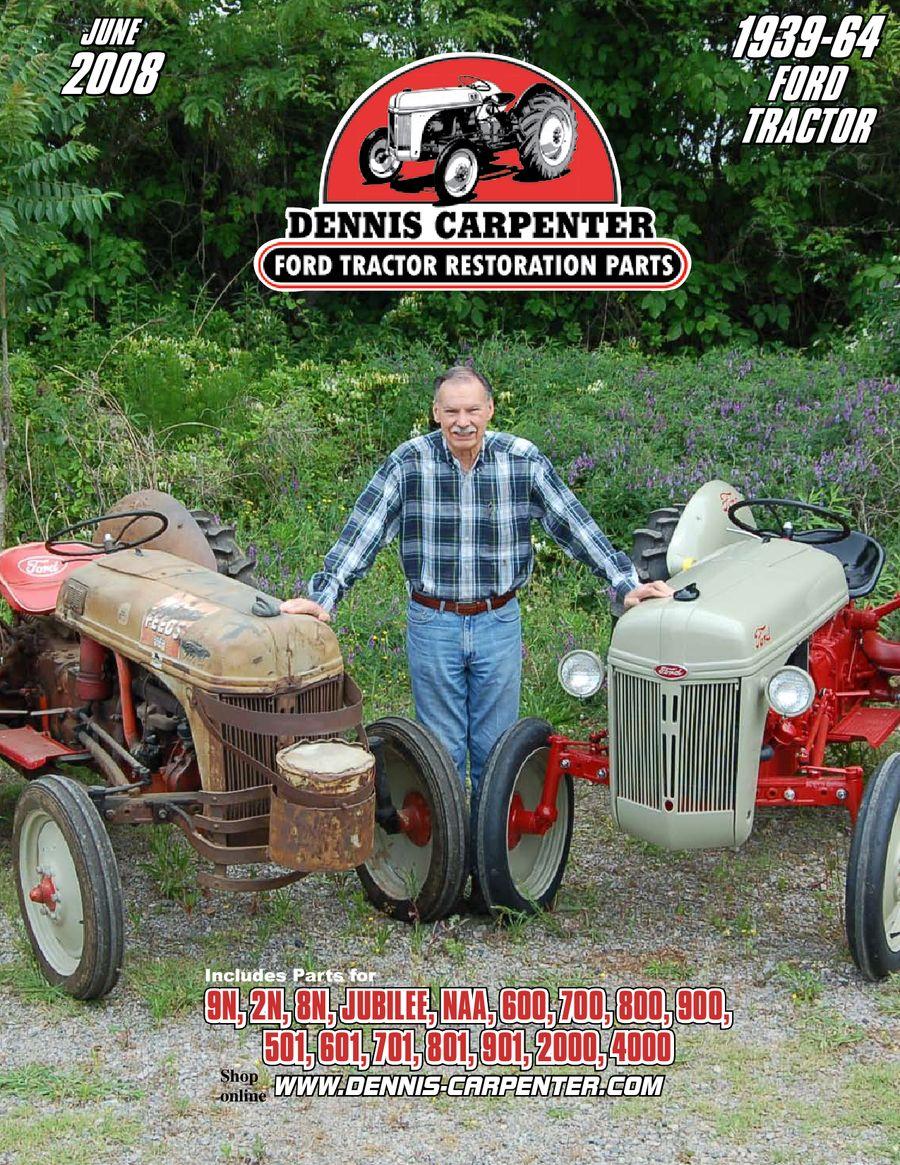 medium resolution of ford tractor restoration parts 2008