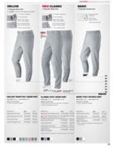 Baseball uniforms and equipment also pants size chart in by wilson rh who sells it