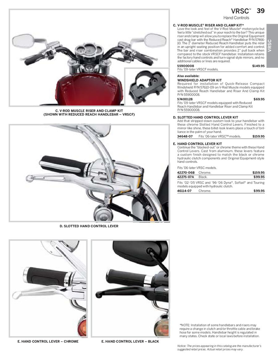 medium resolution of page 21 of harley davidson v rod parts accessories 2013 p
