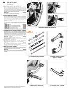 black adjustable highway pegs mounting kit in 2013 Genuine