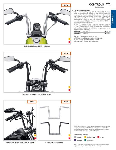 Page 53 of 2014 Genuine Harley-Davidson Controls
