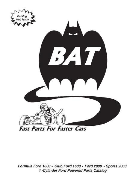 Formula Ford Parts by BAT Inc.