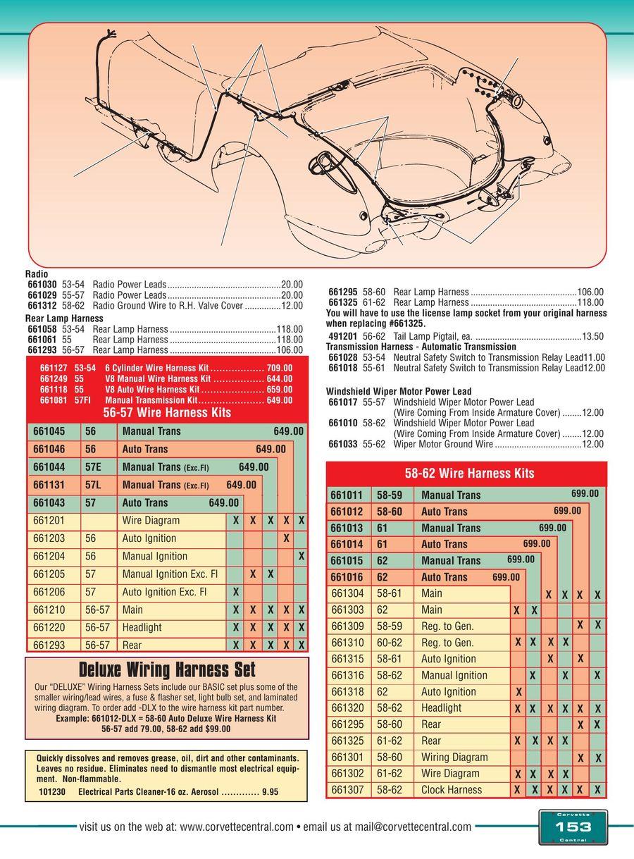 hight resolution of c1 corvette wiring diagram